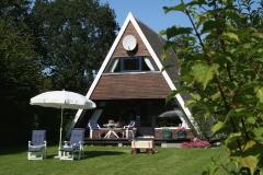 Ferienhaus Damp Terrasse