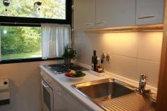 Ferienhaus Damp Küche