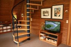 Ferienhaus Damp Treppe