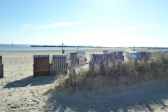 Strandkörbe Damp
